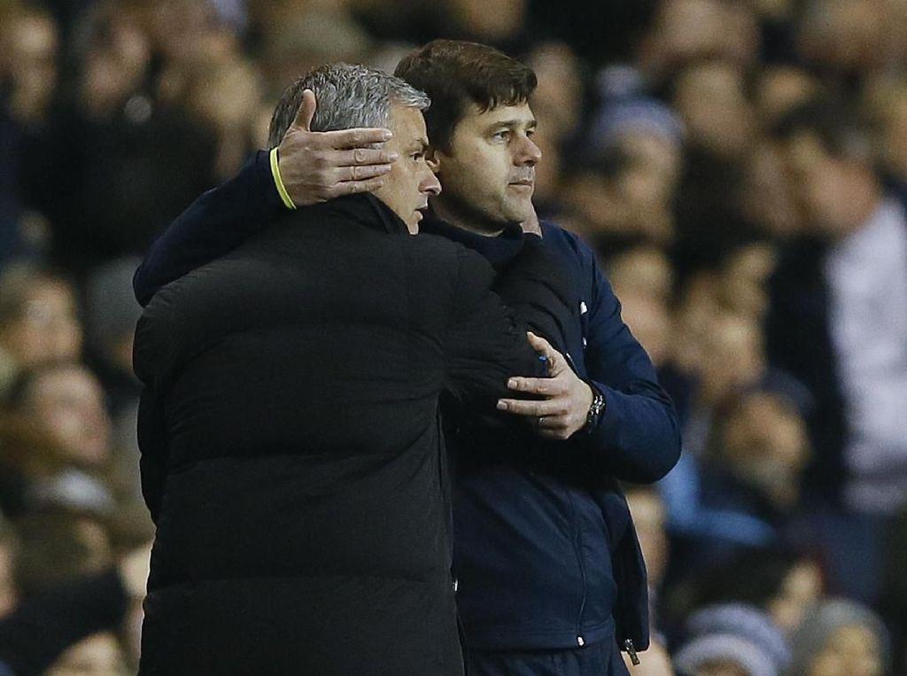 Gelinya Pochettino Karena Digantikan Mourinho di Tottenham