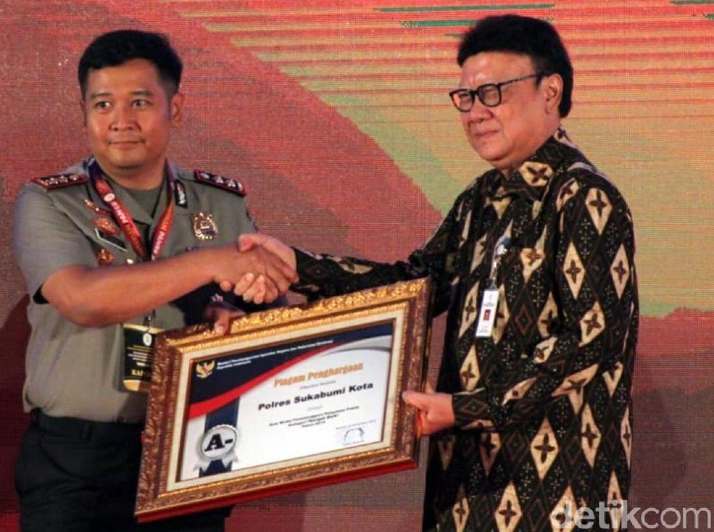 Layanan SIM dan SKCK Polres Sukabumi Kota Raih Penghargaan
