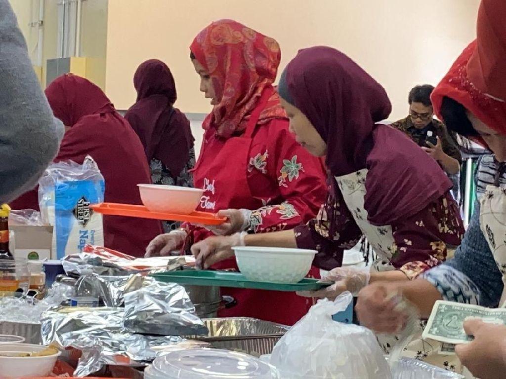 Festival Kuliner Halal Indonesia Diserbu Pengunjung di Amerika