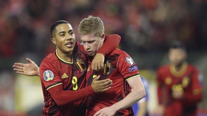 Kevin De Bruyne tak suka dengan format baru Piala Eropa 2020 (AP Photo/Francisco Seco)