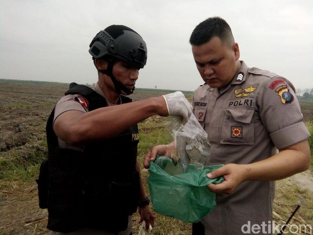 Polisi Distrakter Bom Hasil Rakitan Terduga Teroris Medan
