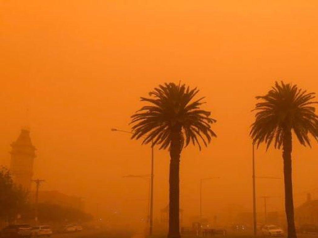 Victoria Berlakukan Keadaan Darurat Cuaca, Mildura Dipenuhi Debu Oranye
