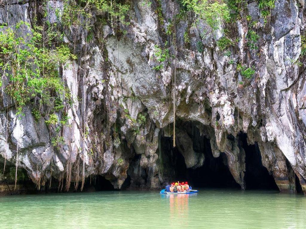 Jelajahi Uniknya Sungai Bawah Tanah Puerto Princesa Filipina