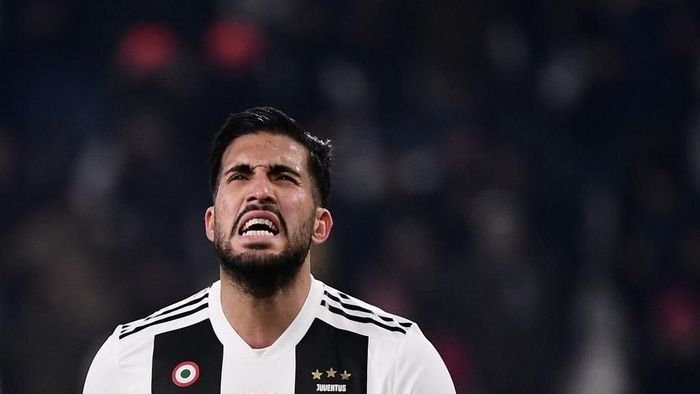 Juventus German midfielder Emre Can celebrates after scoring during the Italian Serie A football match Juventus vs Chievo Verona on January 21, 2019 at the Juventus stadium in Turin. (Photo by Marco BERTORELLO / AFP)