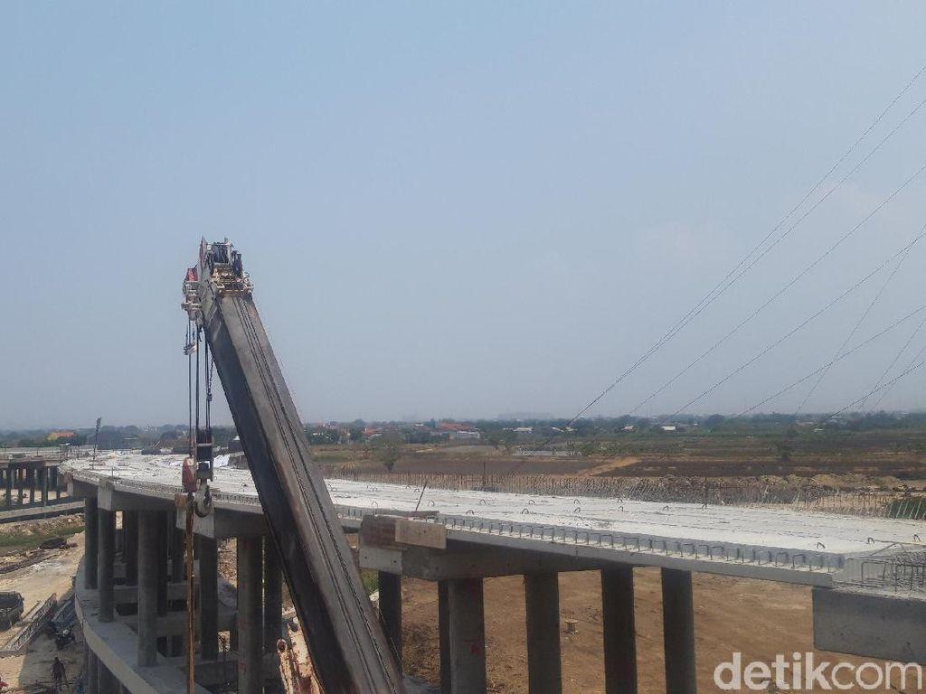 Proyek Pembangunan Tol Krian-Legundi-Bunder-Manyar Capai 85%