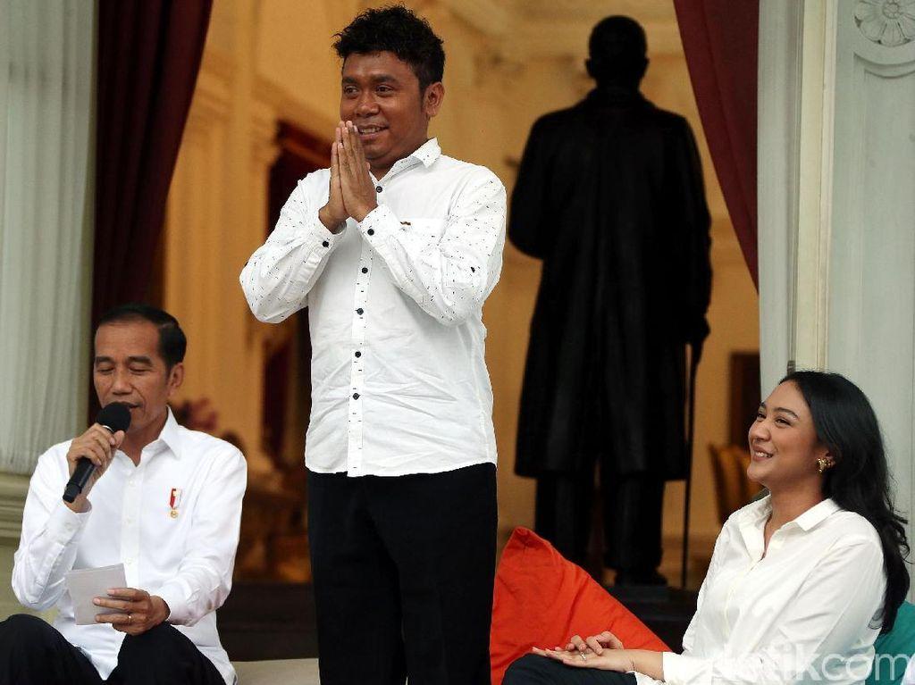 Jokowi Bela Stafsus Billy dari Gempuran Bully