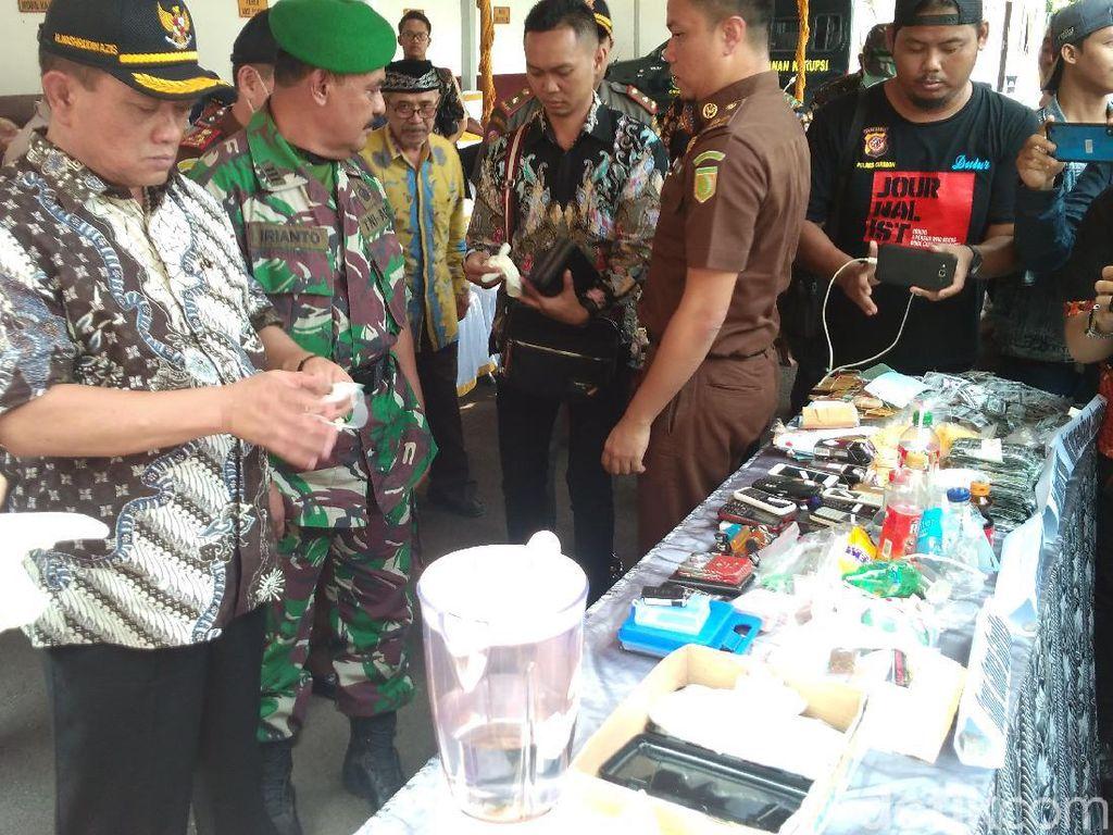 Cegah Penyalahgunaan, Sabu-Ekstasi Diblender Kejari Cirebon