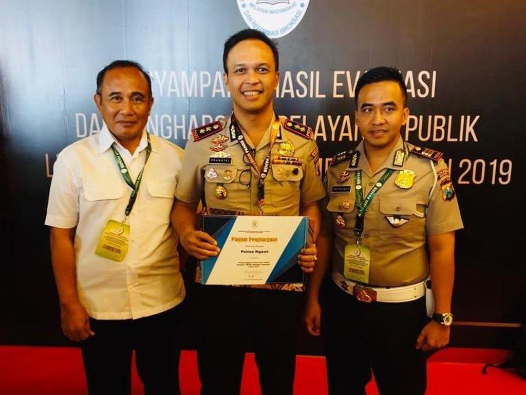 Dapat Nilai Baik dari KemenPAN RB, Polres Ngawi Terima Kasih ke Warga