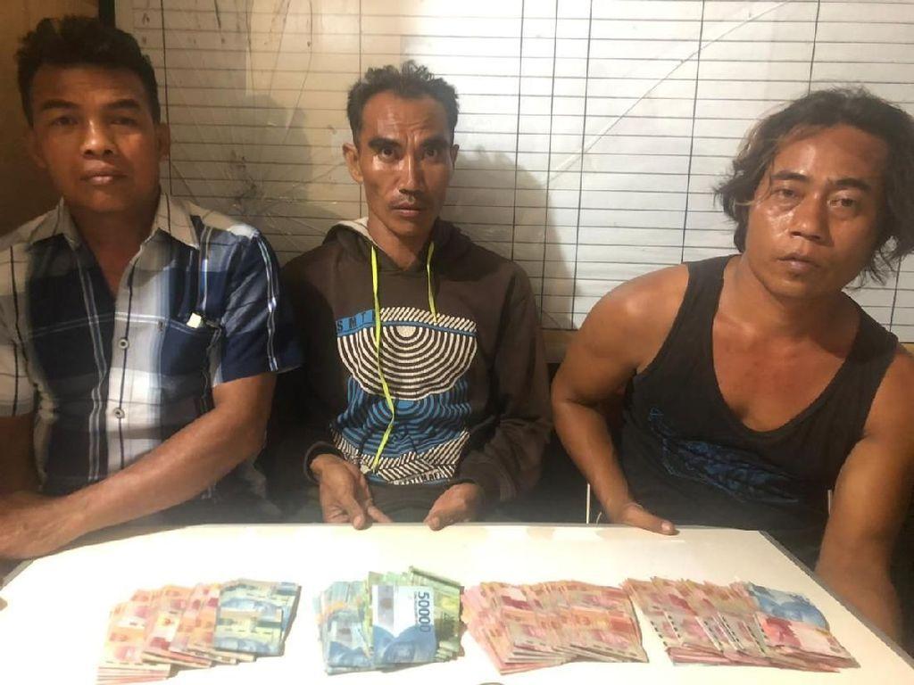Pilkades di Lombok Utara Dijadikan Ajang Judi, 3 Pria Ditangkap Polisi