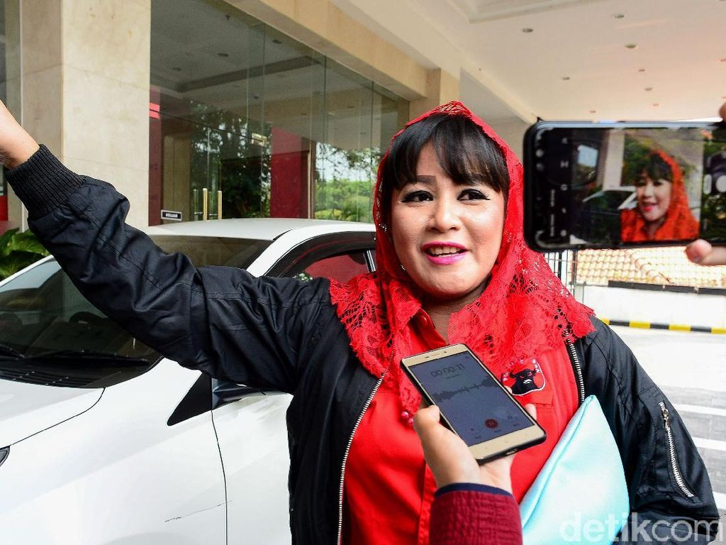 Dewi Tanjung Bicara Soal Laporan Tetangga Novel Baswedan