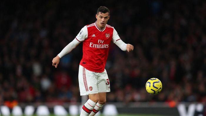 Granit Xhaka siap tampil kembali bersama Arsenal. Foto: Catherine Ivill/Getty Images