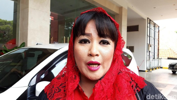 Dewi Tanjung (Rahel Narda Chaterine/detikcom)