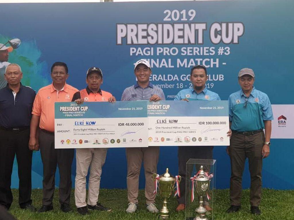 President Cup 2019 Selesai, Pegolf Indonesia Rebut Juara Umum