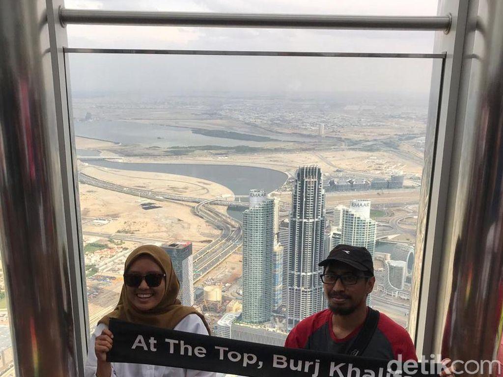 Hari Ketiga di Dubai, dTraveler Kepincut Gurun & Burj Khalifa