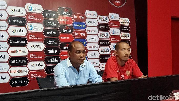 Pelatih Sriwijaya FC, Kas Hartadi, bilang anak asuhannya kurang beruntung. (Foto: Aditya Mardiastuti/detikcom)
