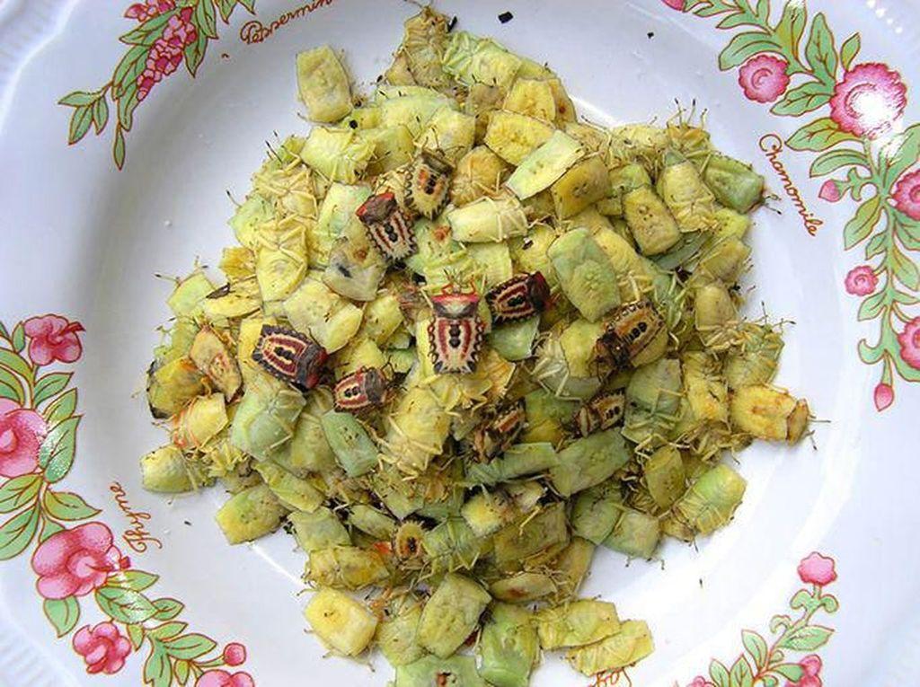 Tumis Serangga Berbau Tajam Jadi Makanan Favorit Warga Desa di China