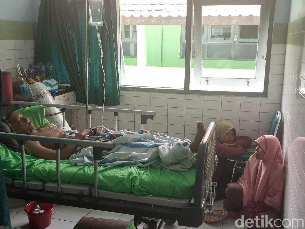 10 Siswa Korban Ambruknya Aula SMKN 1 Miri Sragen Masih Dirawat
