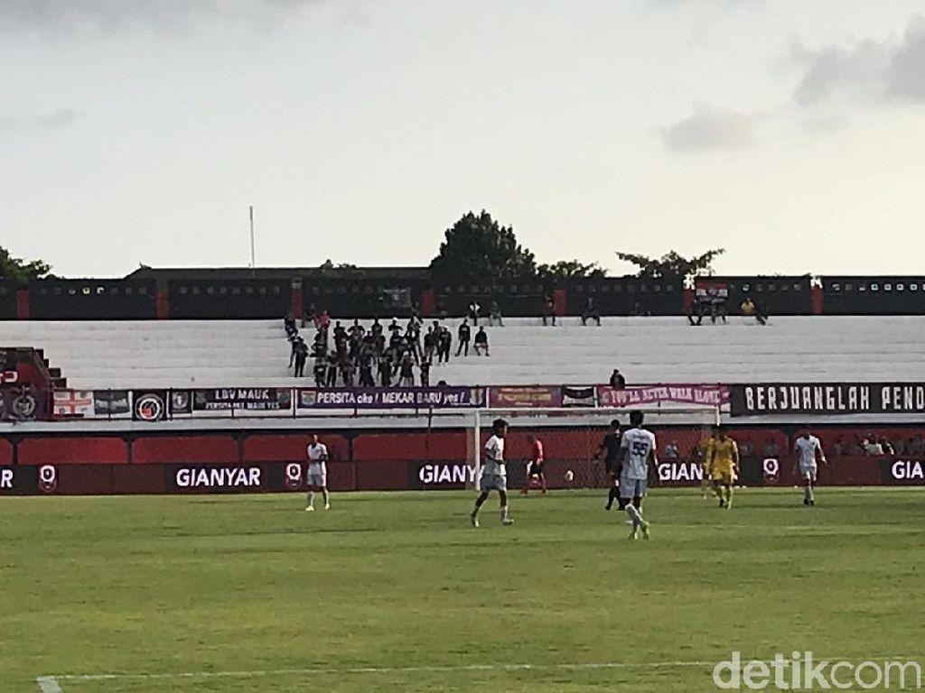 Pertandingan Sriwijaya FC Vs Persita di Bali Sepi Penonton
