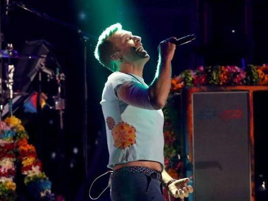Coldplay Tak Akan Gelar Tur Sampai Temukan Konser Ramah Lingkungan
