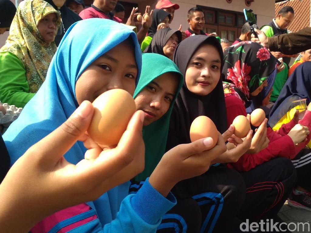 Pemkab Blitar Bikin Gerakan Makan Telur untuk Jamin Keamanan Hasil Ternak