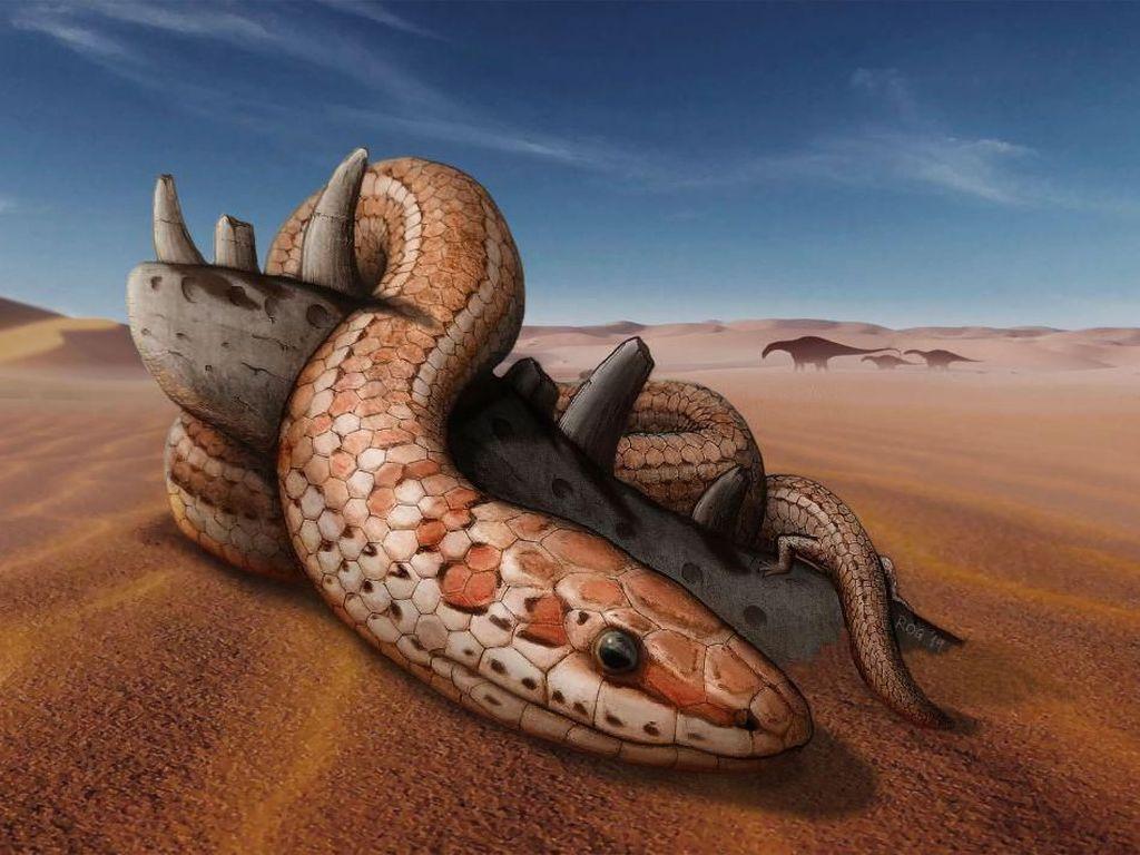 Fosil Ular Berkaki Ungkap Fakta Mengejutkan