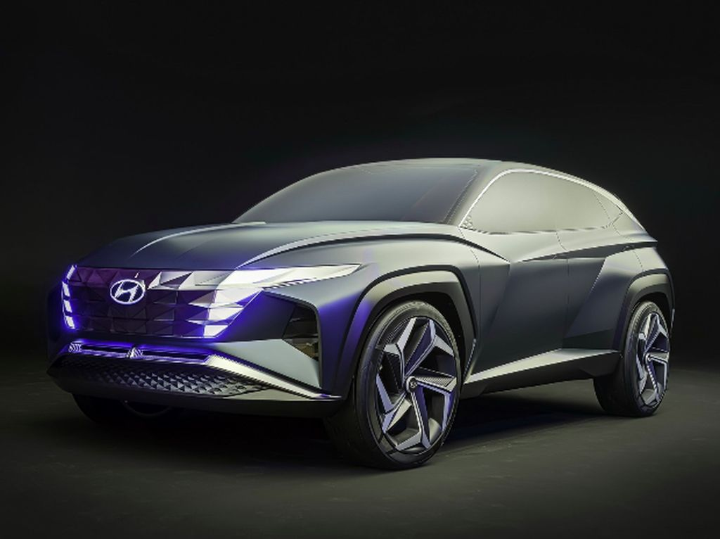 Bocoran Tampang Hyundai Tucson Plug-In Hybrid