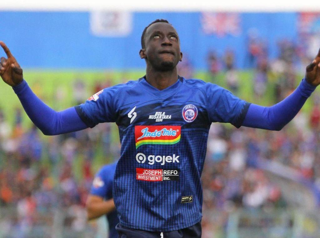 Makan Konate Ingin Akhir Musim yang Manis dengan Arema FC