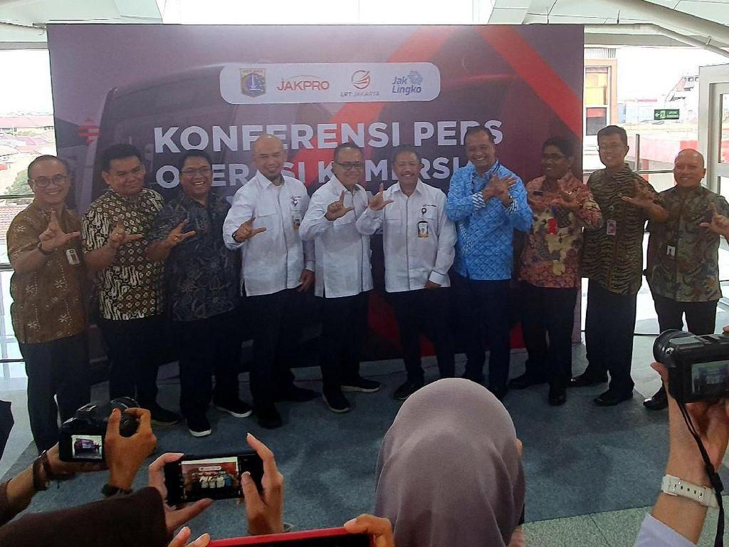LRT Jakarta Beroperasi Komersil Per 1 Desember 2019