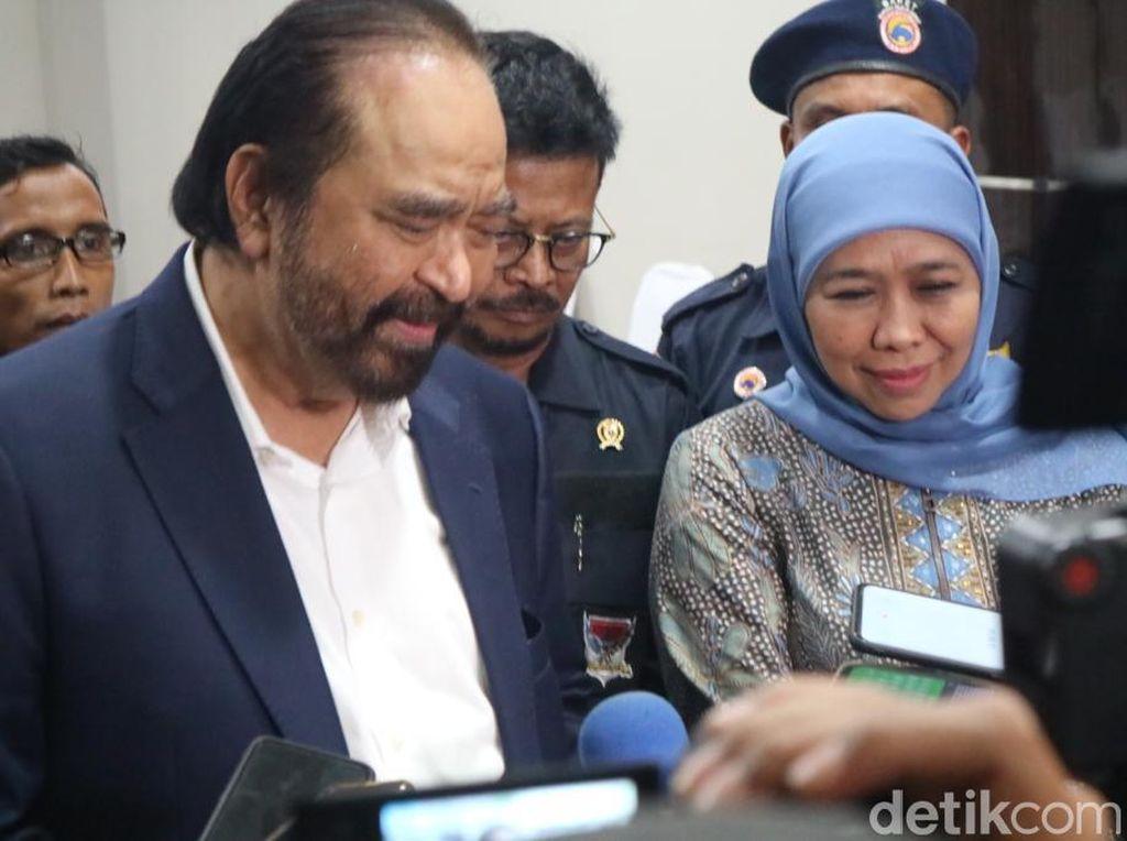 Jokowi Pilih 7 Stafsus dari Milenial, Ini Kata Surya Paloh