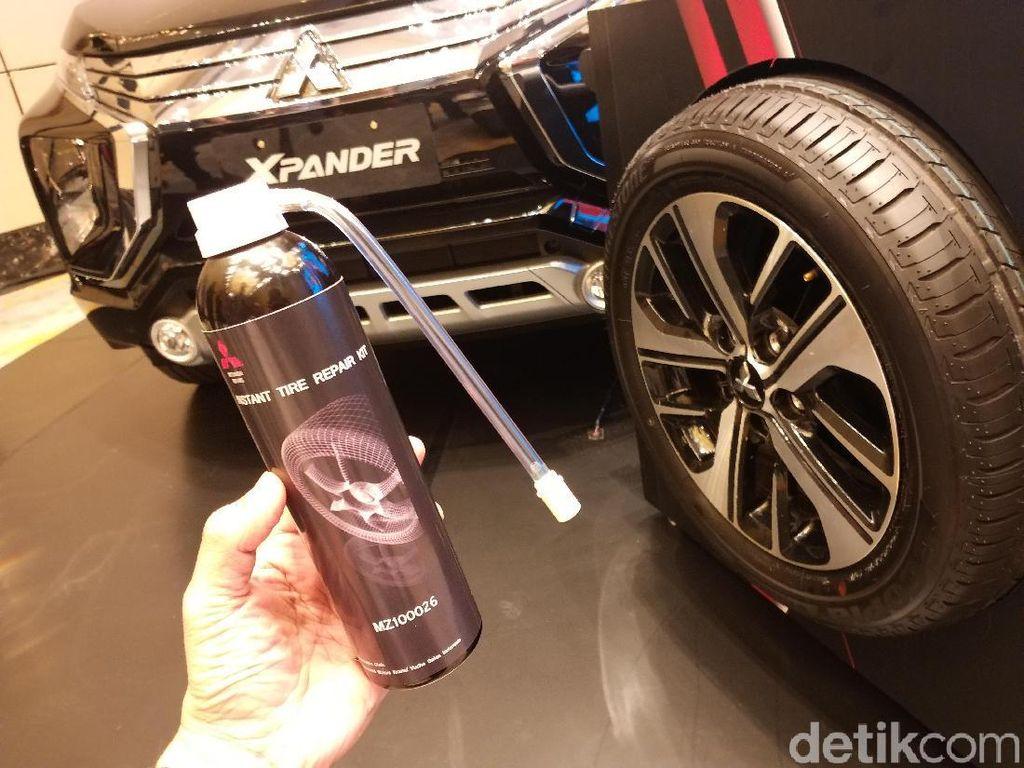 Tire Repair Kit Mitsubishi, Bisa Tambal Ban Bocor dalam 1 Menit