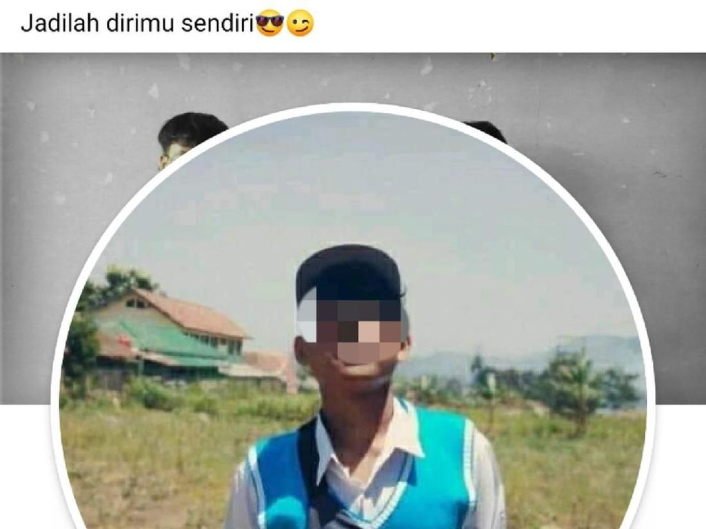 FB Remaja Pemerkosa Adik Angkat Diretas, Tulis Jadilah Dirimu Sendiri