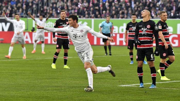 Bayern Munich menang 4-0 atas Fortuna Dusseldorf. (Foto: Martin Meissner/AP Photo)