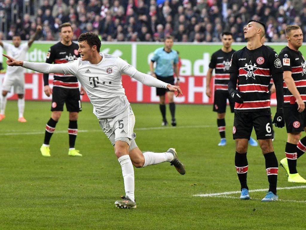 Fortuna Dusseldorf Vs Bayern Munich: Die Roten Menang 4-0