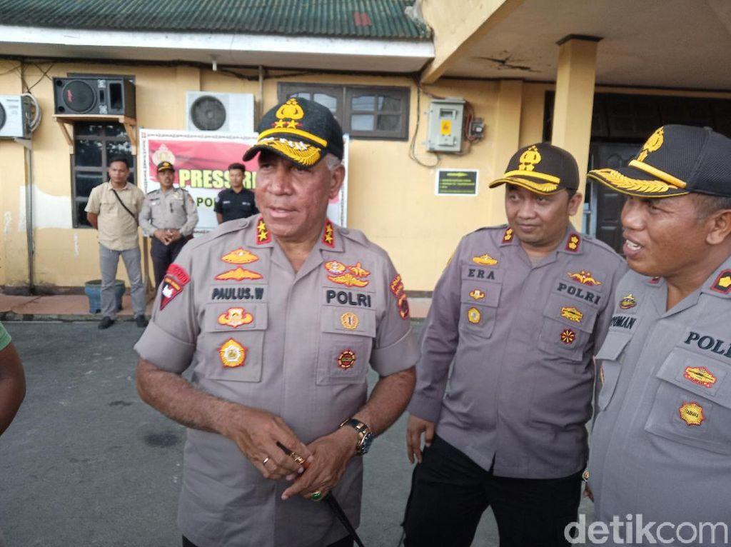 Pimpinan KKB Penyerang Polsek Sinak Mimika Ditangkap Saat Kumpulkan Amunisi