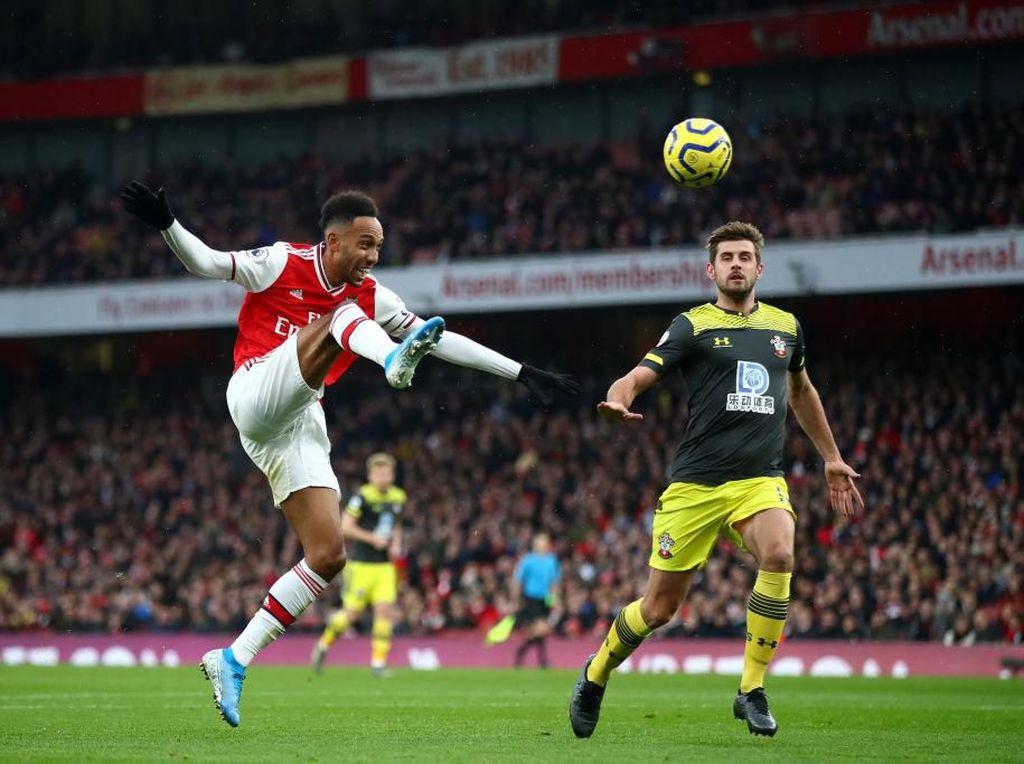 Arsenal Vs Southampton Imbang 1-1 di Babak Pertama