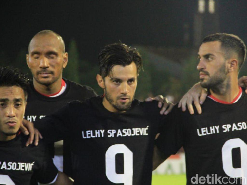 Doa untuk Istri Spasojevic Jelang PSM Vs Bali United
