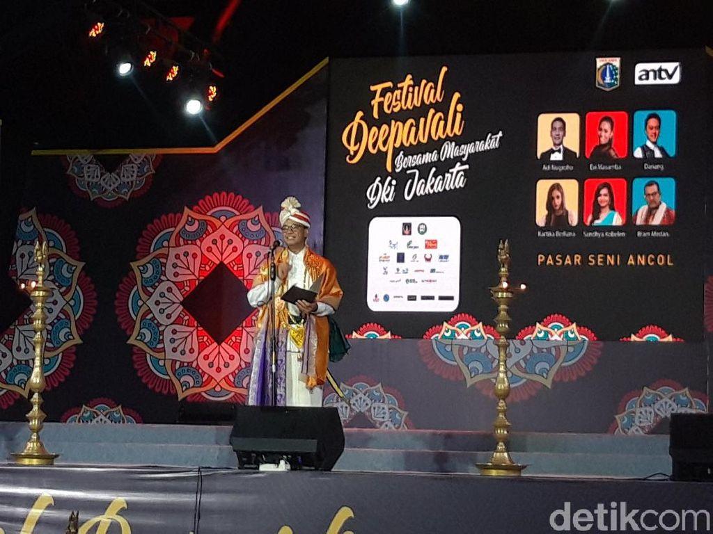 Festival Deepavali, Anies Jamin Jakarta untuk Semua