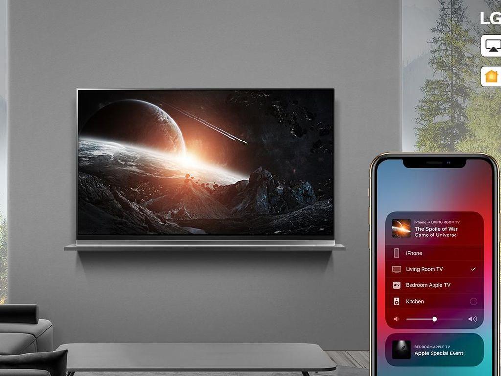 AirPlay 2 BIsa Diputar di Jajaran TV LG