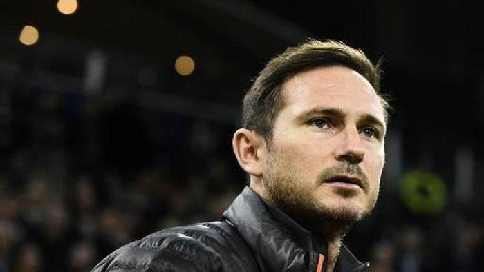 Frank Lampard enggan melatih Tottenham Hotspur di masa depan. (Foto: Jonathan Thys / AFP)