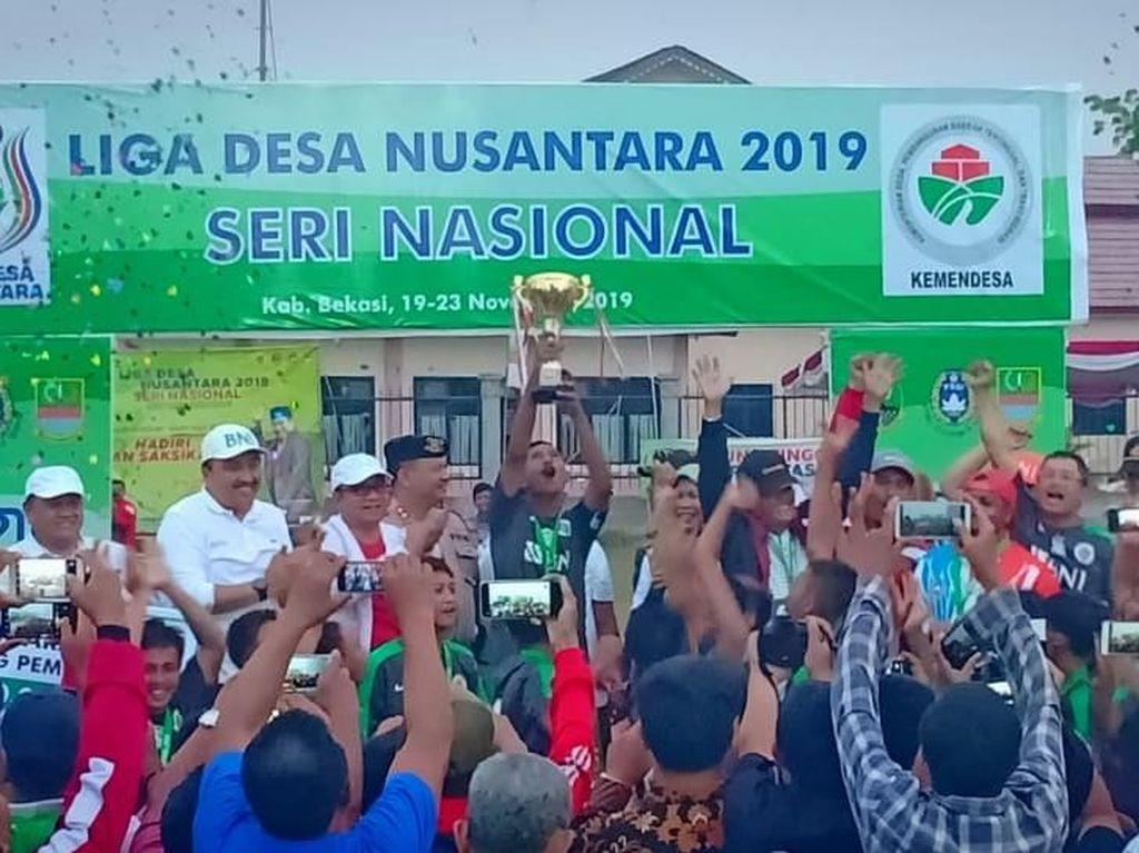 Kemendes Ingin Liga Desa Nusantara Terus Ada Setiap Tahunnya