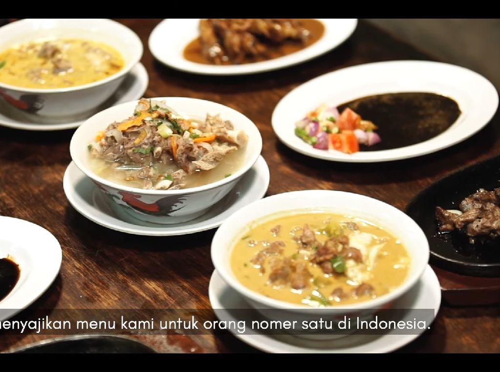 3 Kuliner Bogor Maknyus Pilihan Presiden Joko Widodo