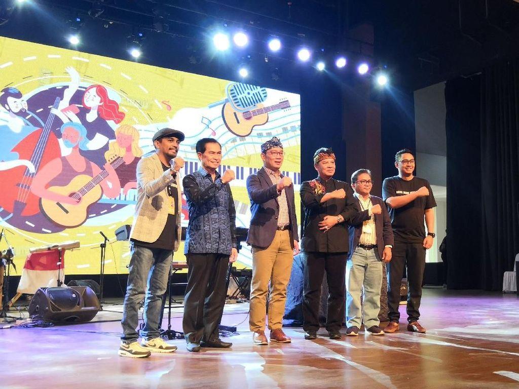 Glenn Fredly hingga Ridwan Kamil Buka Konferensi Musik Indonesia