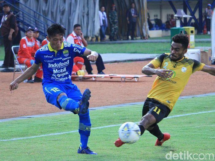 Barito Putera mensyukuri satu angka dari kandang Persib Bandung. (Foto: Wisma Putra/detikcom)