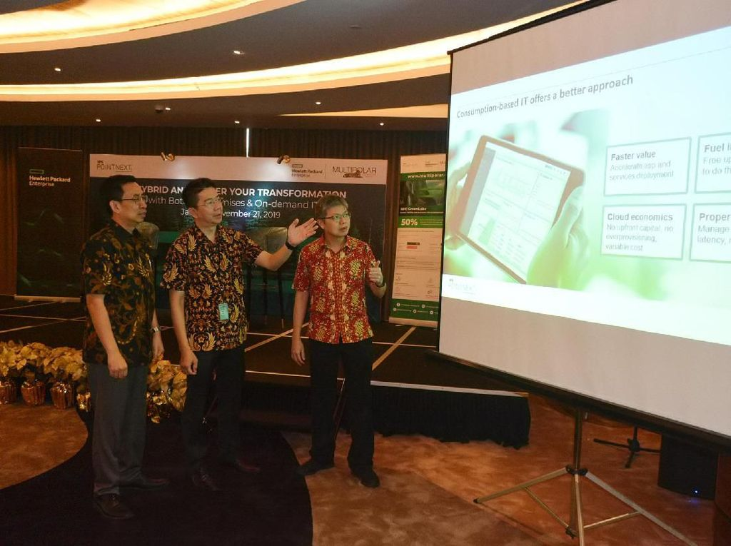 Dukungan Infrastruktur Teknologi Informasi yang Mumpuni