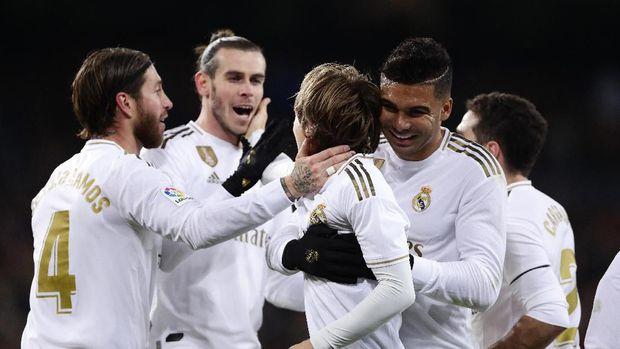 Real Madrid hanya mampu menjadi runner-up Grup A.