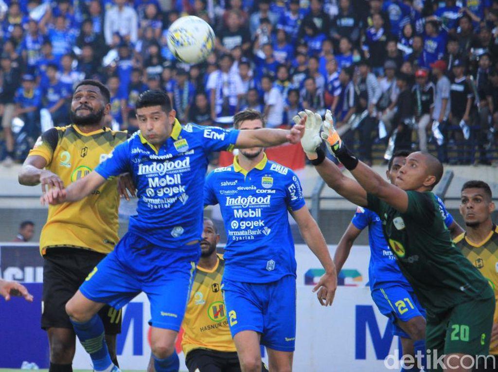 Esteban Vizcarra Juga Absen Bela Persib Bandung di Malaysia