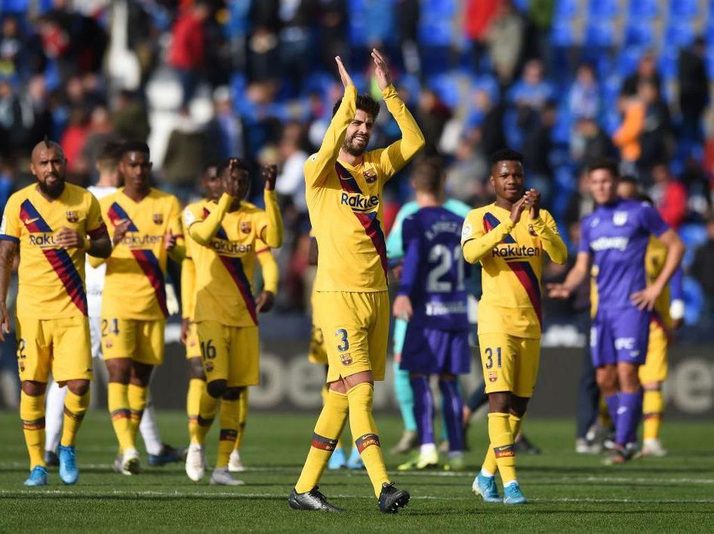Klasemen Liga Spanyol: Barcelona, Madrid, dan Sevilla Duduki Tiga Besar