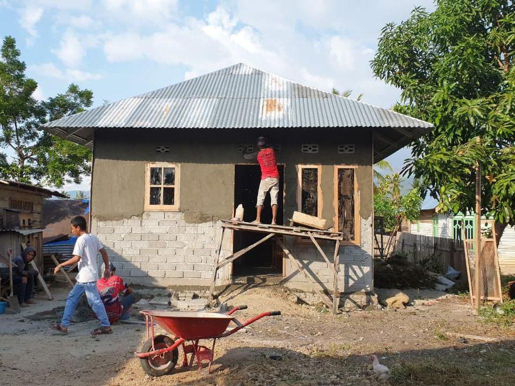 Bedah 5.700 Rumah Korban Gempa Sulteng