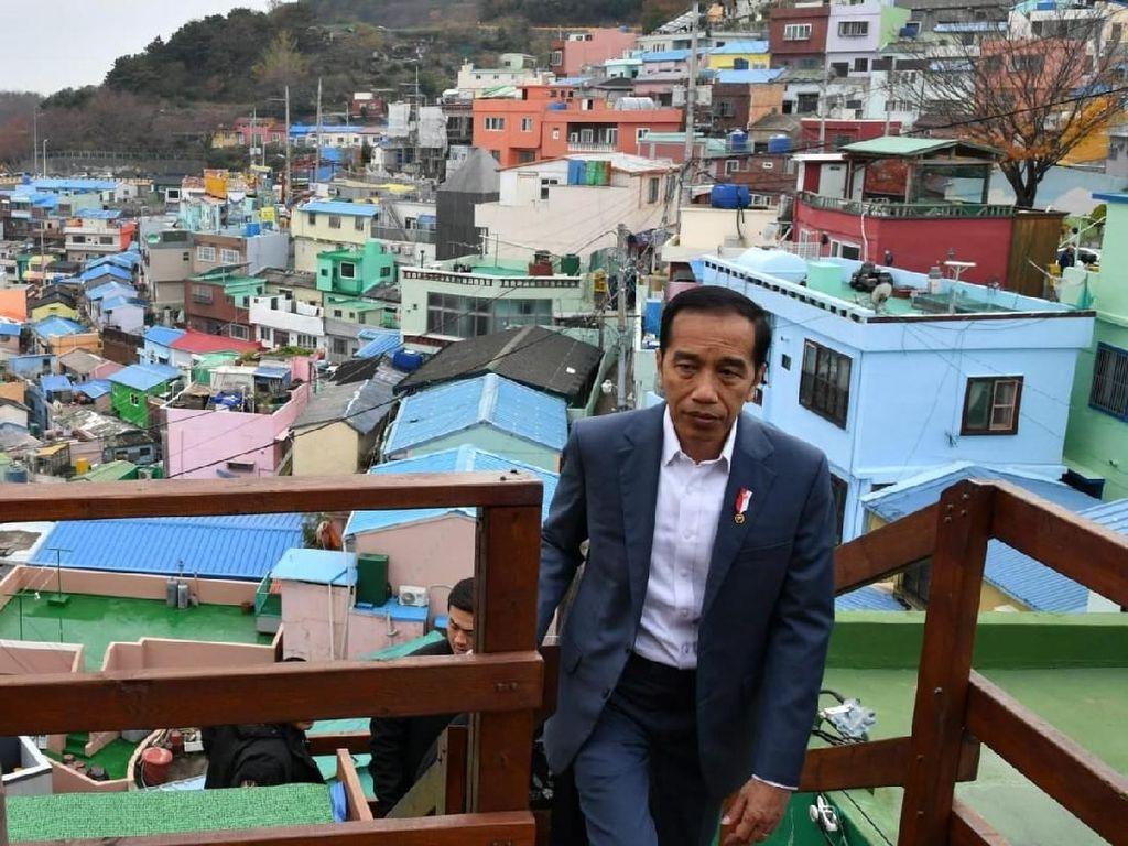 Mengenal Kampung Warna-warni Busan yang Dipuji Jokowi