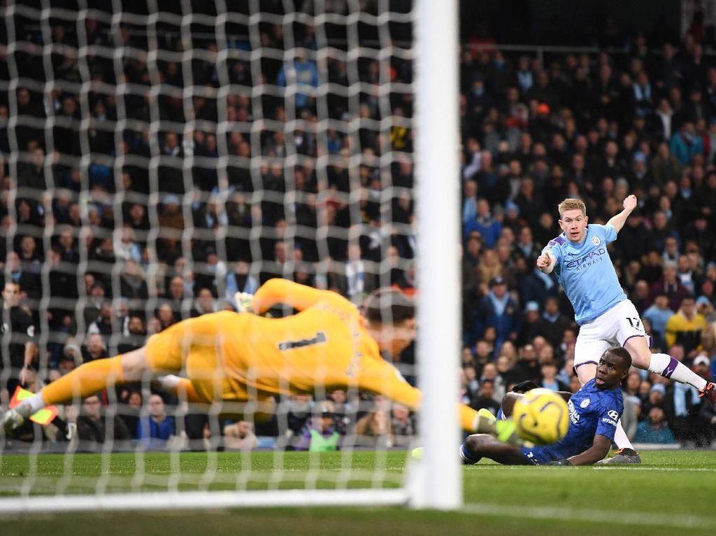 City Catatkan Persentase Penguasaan Bola Terendah dalam Karier Guardiola